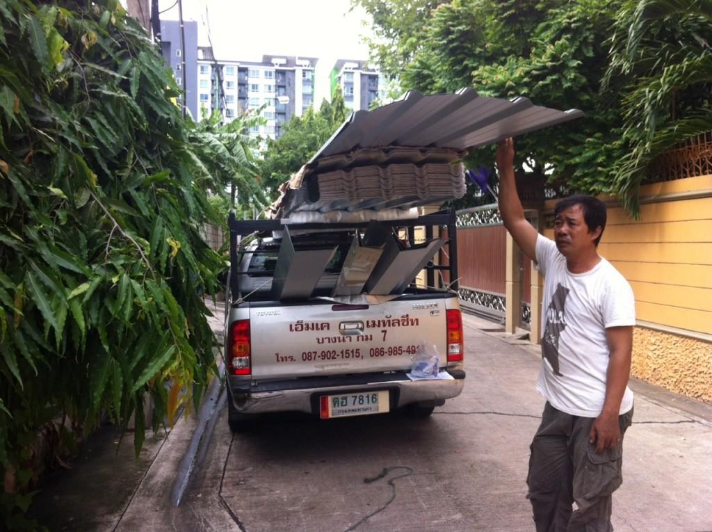 ทำโรงจอดรถ-house-metal-sheet-roofing-expansion-for-car-park-at-phra-khanong-bangkok.